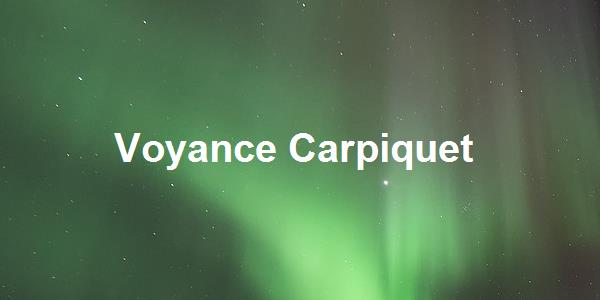 Voyance Carpiquet