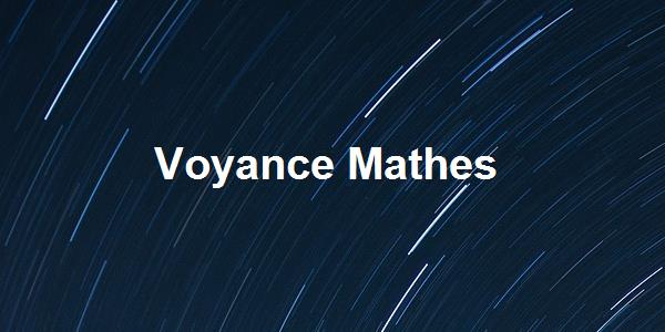 Voyance Mathes